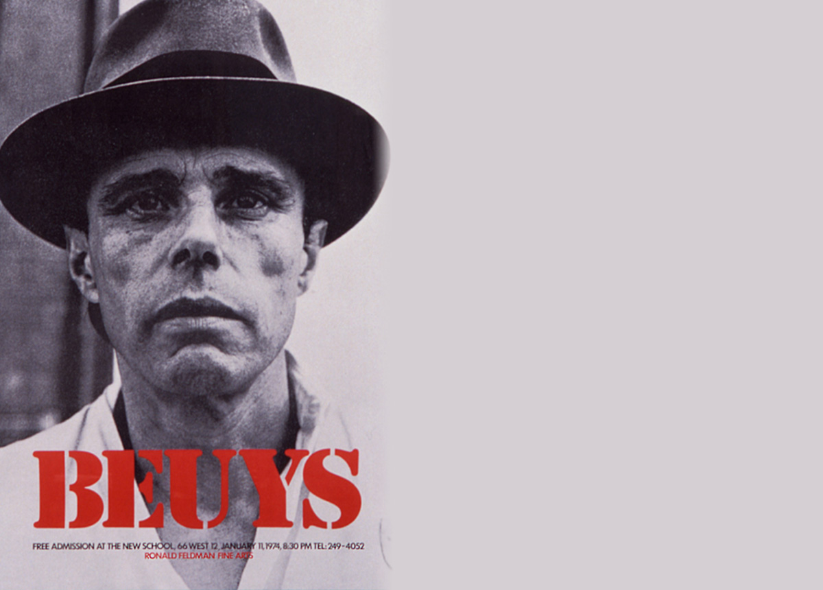 Diary: A look into the mind of Joseph Beuys